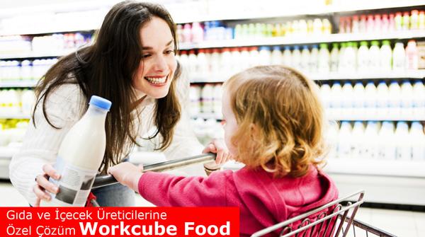 Gıda üreticilerine özel kurumsal yazılım çözümü workcube food